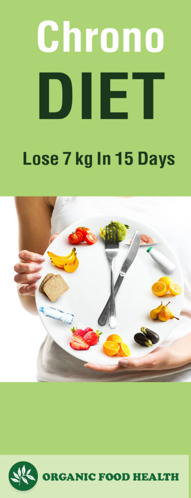 Chrono Diet For Beginners- Lose 7 kg In 15 Days