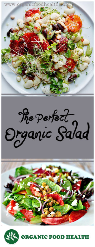 How To Make the Perfect Simple Organic Salad