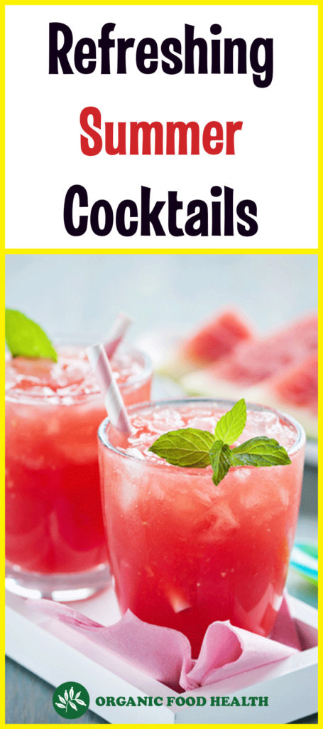 Refreshing and Healthy Summer Cocktails