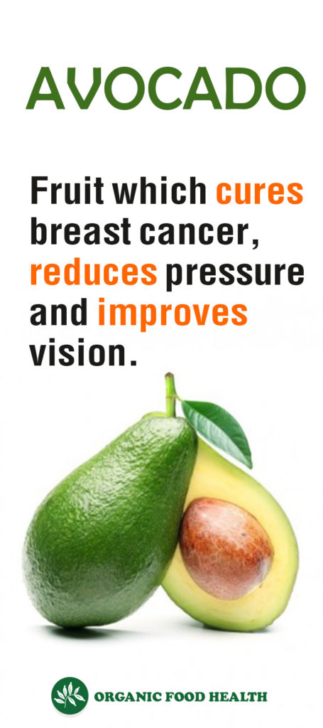 Avocado – Fruit which cures breast cancer, reduces pressure and improves vision