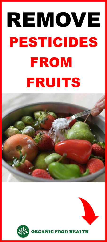 Trick To Remove Pesticides From Fruit And Vegetable.