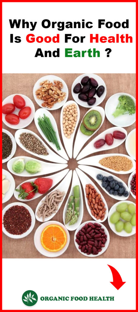 Why Organic Food Is Good For Health And Earth ?